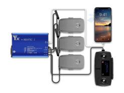 Зарядное устройство для DJI Mavic 2 на 3 батареи (3x4