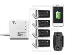 Зарядное устройство для DJI Mavic AIR на 4 аккумулятора