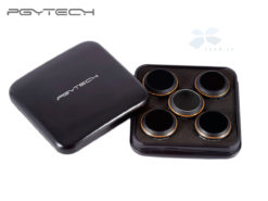 Набор оптических фильтров DJI Mavic PRO 5 Filters Set  (ND4 ND8 ND16 UV CPL) PGYTECH