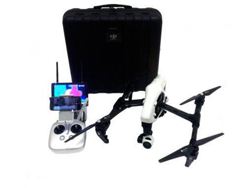 Квадрокоптер DJI Inspire 1 v2.0 SKM-1 c термальной камерой FLIR VUE PRO для тепловизионного мониторинга